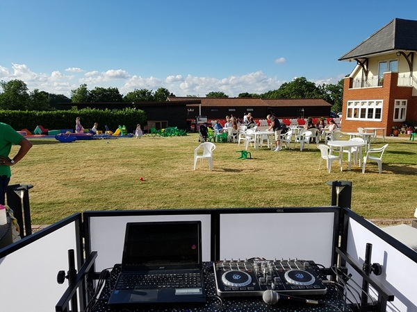 Mobile DJ in Welwyn for Outdoor Events