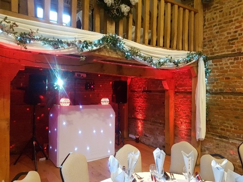 Wireless uplighting for disco parties in Hertfordshire