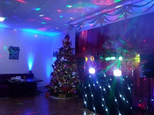 Wireless uplighting for disco parties in Hertfordshire